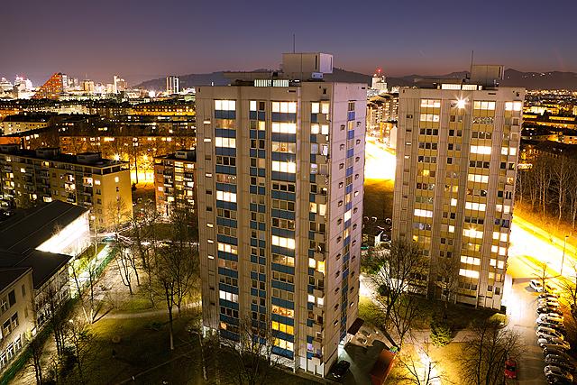 Nočne fotografije Ljubljane
