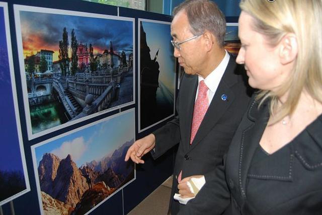 Razstava v palači Združenih narodov v New Yorku