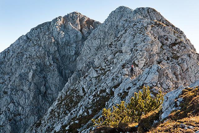 Storžič pot po grebenu