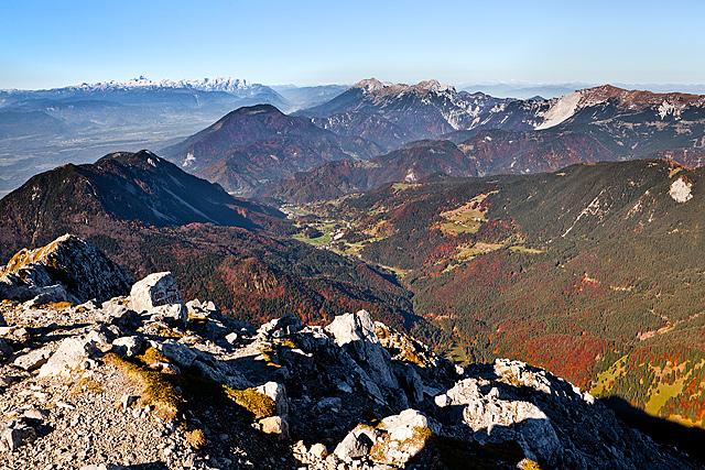 Lom pod Storžičem, Karavanke in Julijske Alpe