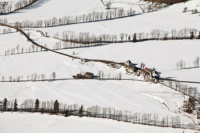 Jezersko v snegu