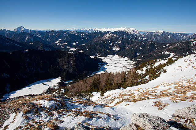 Goli vrh razgled na Jezersko