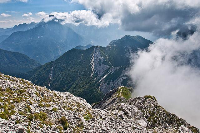 Mali Grintovec Srednji vrh