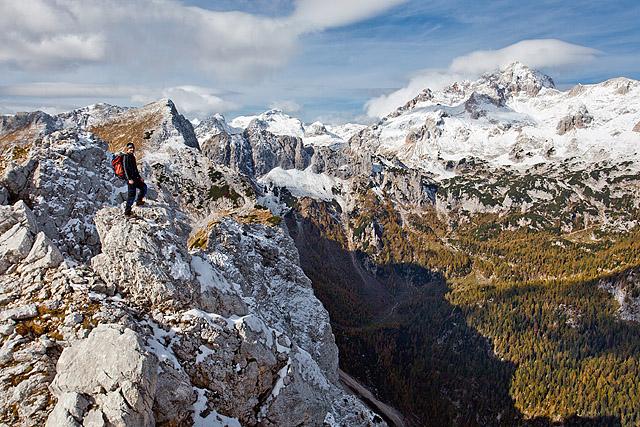 Greben Mali Draški vrh