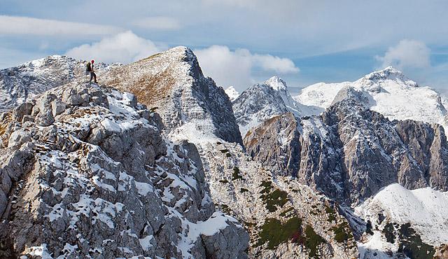 Jesenska Viševnik in Mali Draški vrh