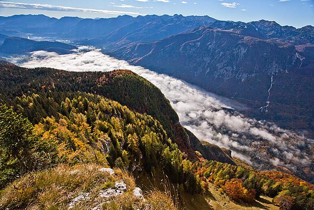 Vogar – Pršivec – Sedmera jezera v barvah jeseni