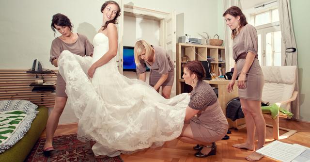 Fotografiranje blejske poroke
