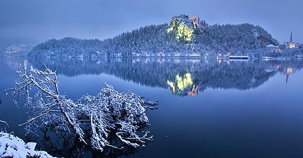 Trije zimski dnevi na Bledu (snegolom – februar 2014)