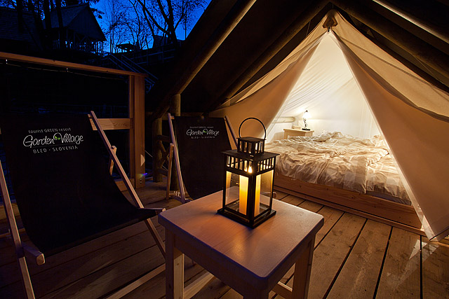Garden village šotor