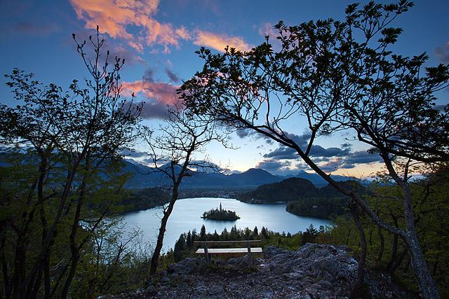 Blejsko jezero Ojstrica