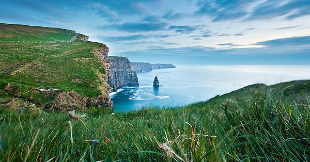 Irska – med klifi vzhoda in zahoda