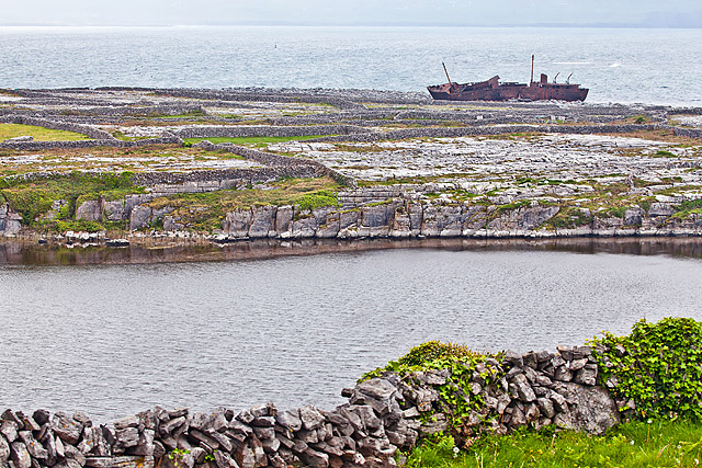 Aran islands shipwreck