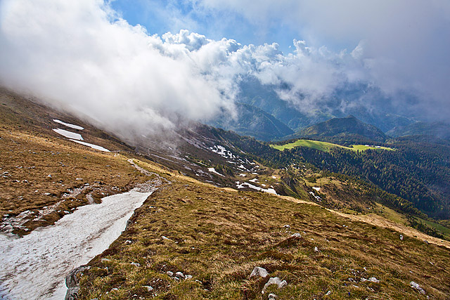 Pot na Veliki vrh na Košuti