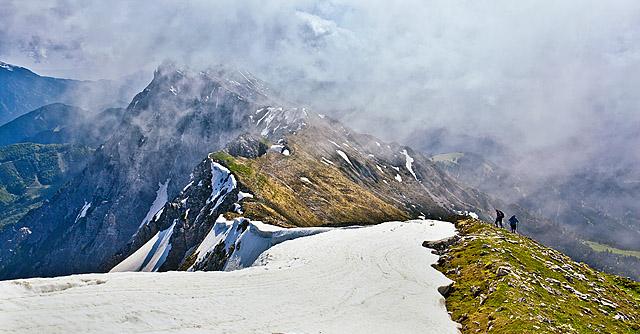 Košuta – Veliki vrh in Veliko Kladivo