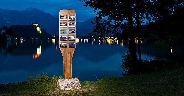 Razglednice Bled in izdelava unikatnega stojala za razglednice