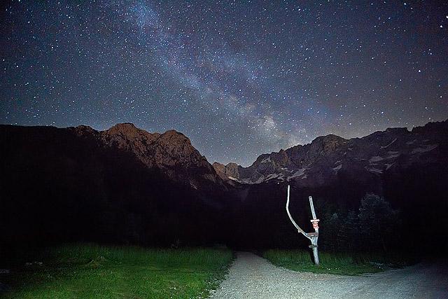 Mlečna cesta fotografiranje