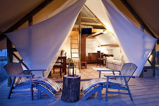 Luksuzni šotor Garden Village