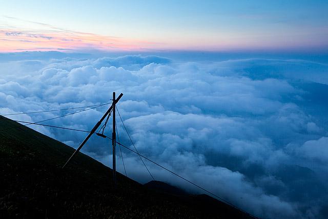 Nad oblaki v gorah