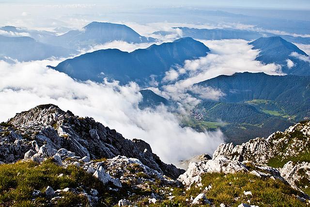 Razgled z Matajurskega vrha