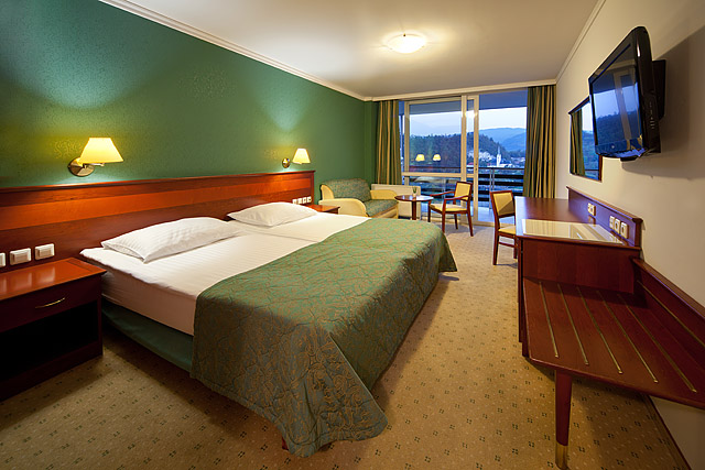 Fotografiranje hotelskih sob Sava hoteli Bled