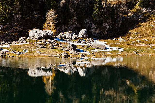 Odsev v jezeru