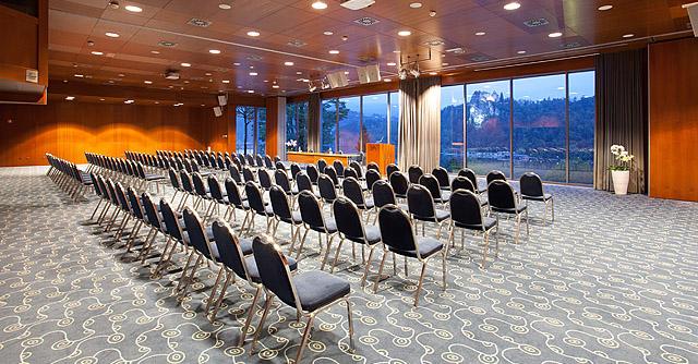 Fotografiranje konferenčnih kapacitet in restavracij Sava hoteli Bled