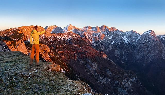 Kamniško Savinjske Alpe panorama