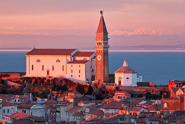 Piran cerkev svetega Jurija