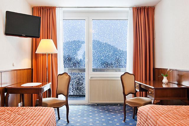 Sneg skozi okno