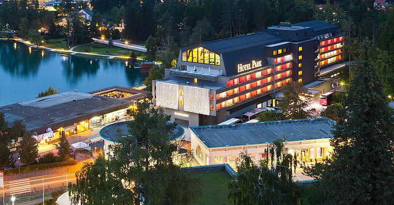 Fotografiranje prenovljenega hotela Park, Bled