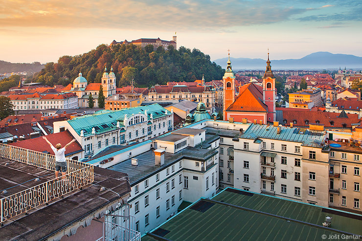 Ljubljana fotografija