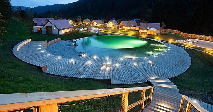 Fotografiranje glamping resorta Herbal, Ljubno