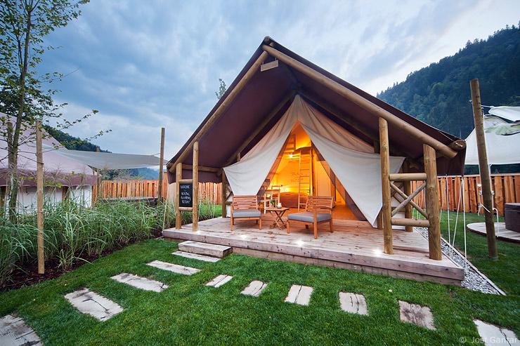 Fotografiranje šotorov