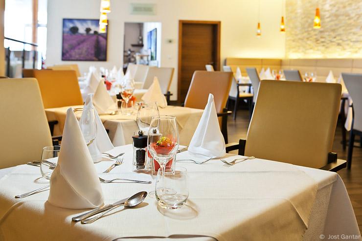 Restavracija detajl