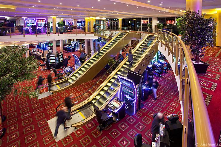 Fotografiranje prostorov kazino
