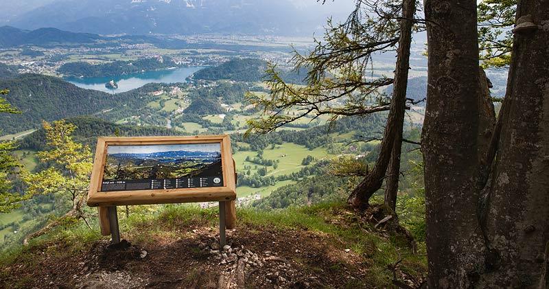 Izdelava panoramskih tabel na Babjem zobu