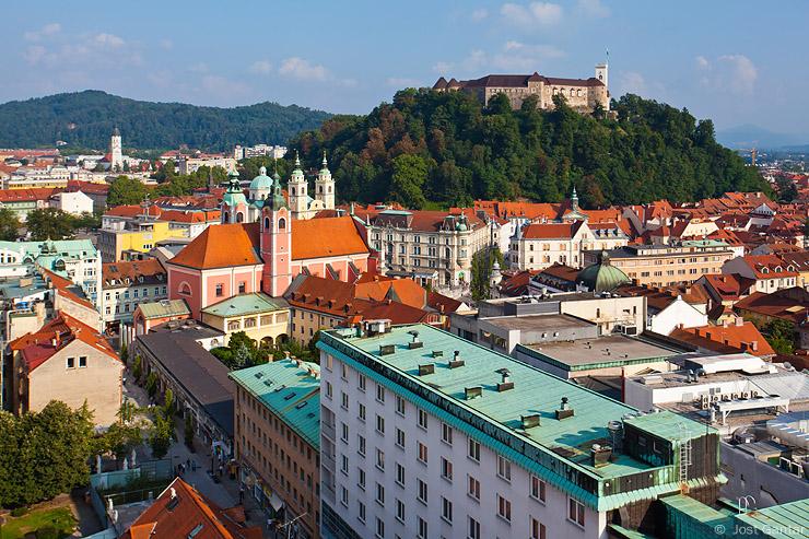 Razglednice Ljubljana