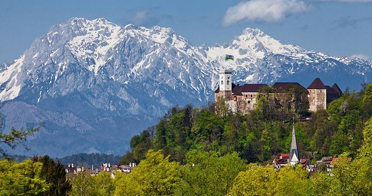 20 fotografij za razglednice Ljubljane