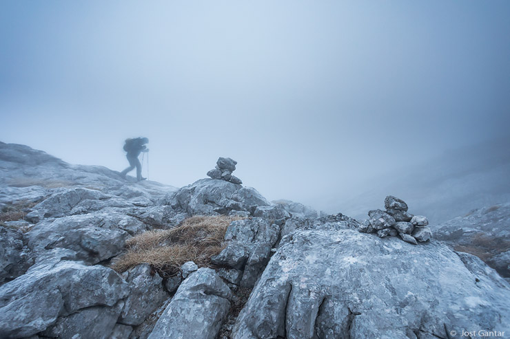 Megla v gorah