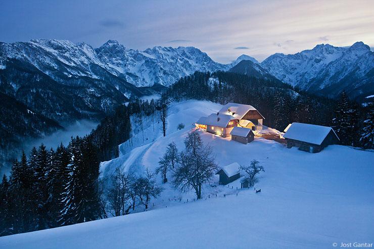 Logarska dolina zima