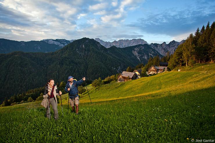 Pohodništvo na turistični kmetiji