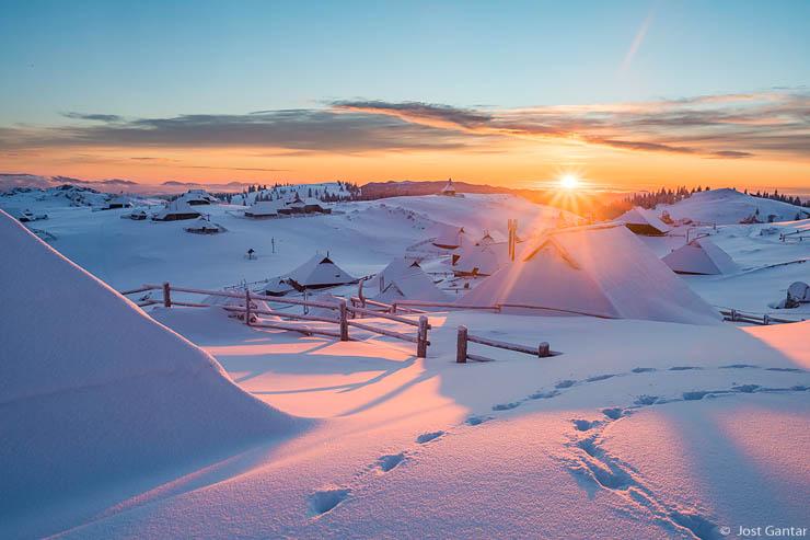 Velika planina zima