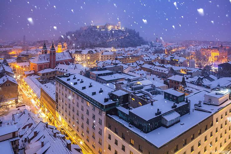 Ljubljana zima