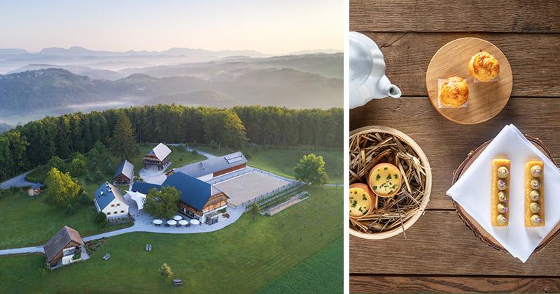 Fotografiranje kulinarike in objekta – Posestvo Pule
